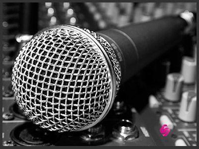 Micrófono de directos