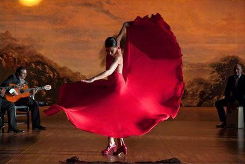 Cuadro flamenco para eventos