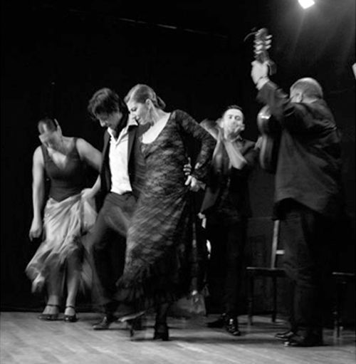 Cuadro flamenco para fiestas privadas