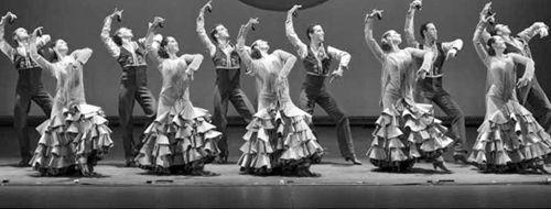 Espectáculo de ballet flamenco y danza