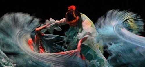 Espectáculo de danza española
