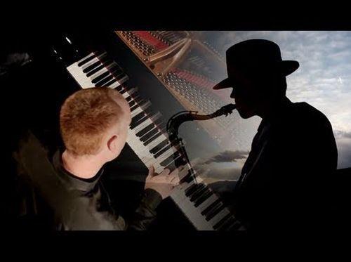 Contratar dúo de saxofón y piano