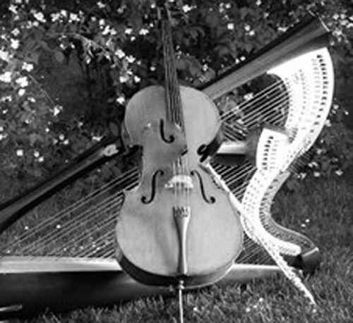 Contratar duo de arpa y violín para bodas
