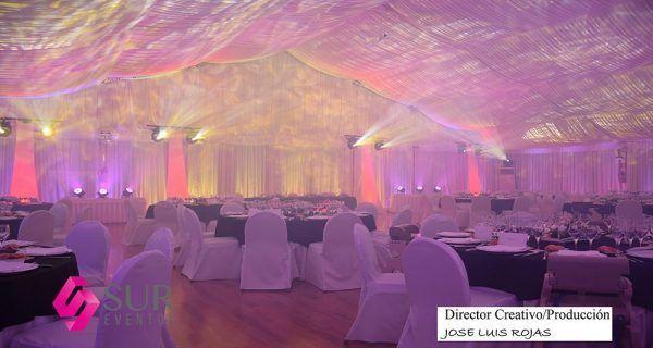 Diseño de iluminación para eventos