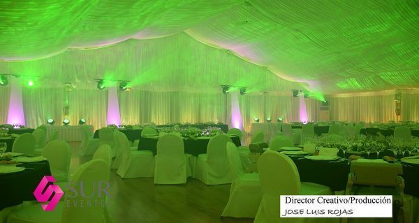 Diseño visual para salones de eventos