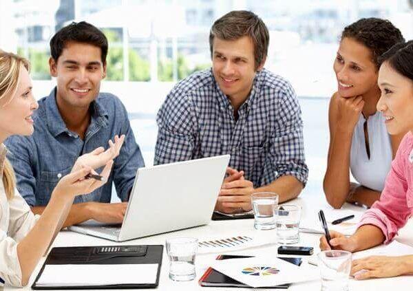 Mejora de la actitud positiva en el desempeño del trabajo