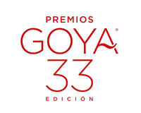 Logo de la 33 edición de los Premios Goya